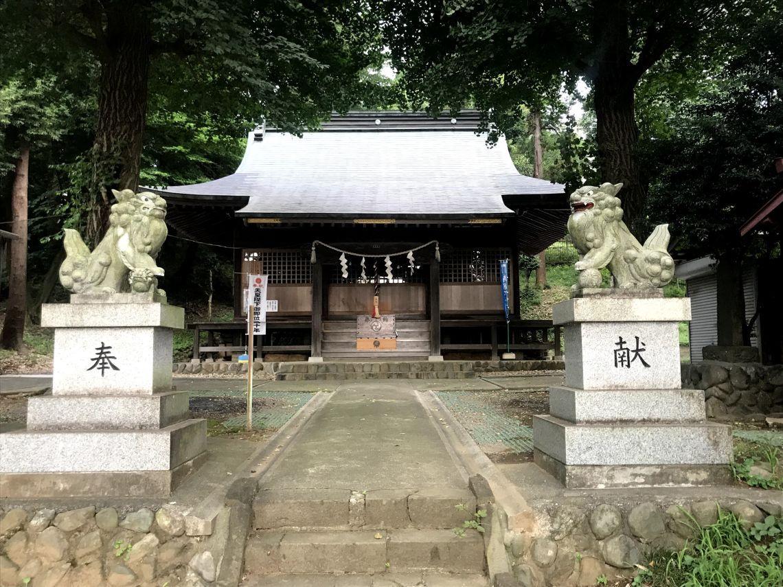 多摩市関戸 熊野神社