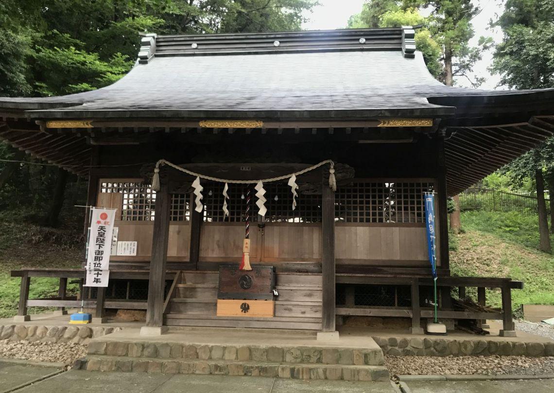 八王子市東中野 熊野神社