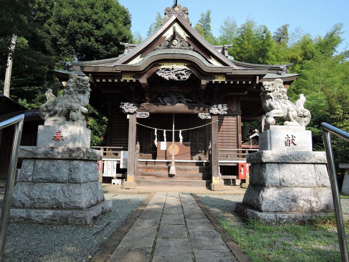 町田市小野路 小野神社