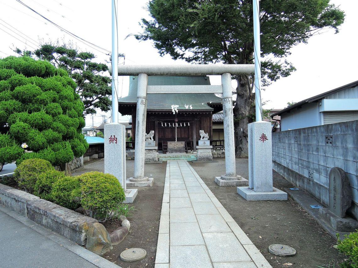 日野市落川 神明神社