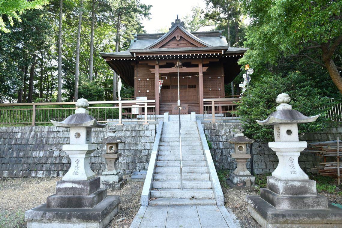 八王子市堀之内 北八幡神社