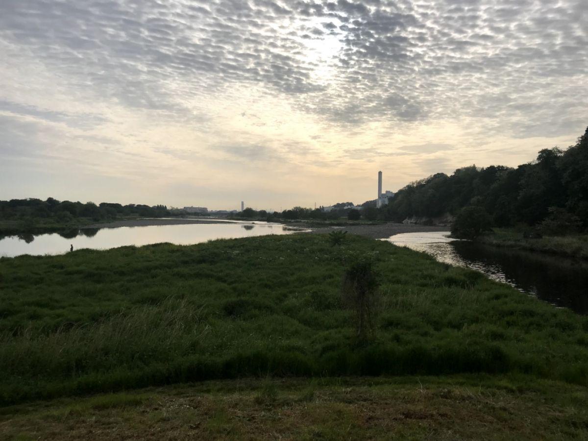 大栗川0km地点