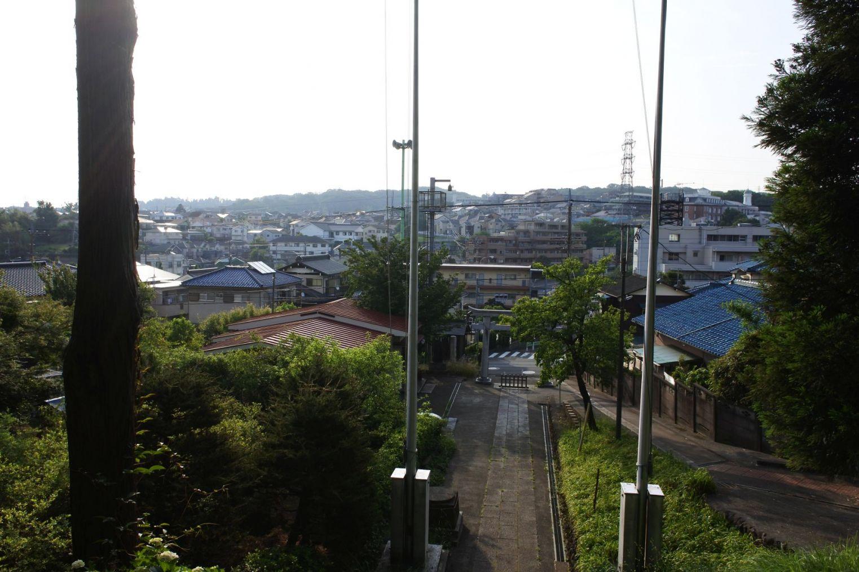 神社と多摩市の川巡り(7km)