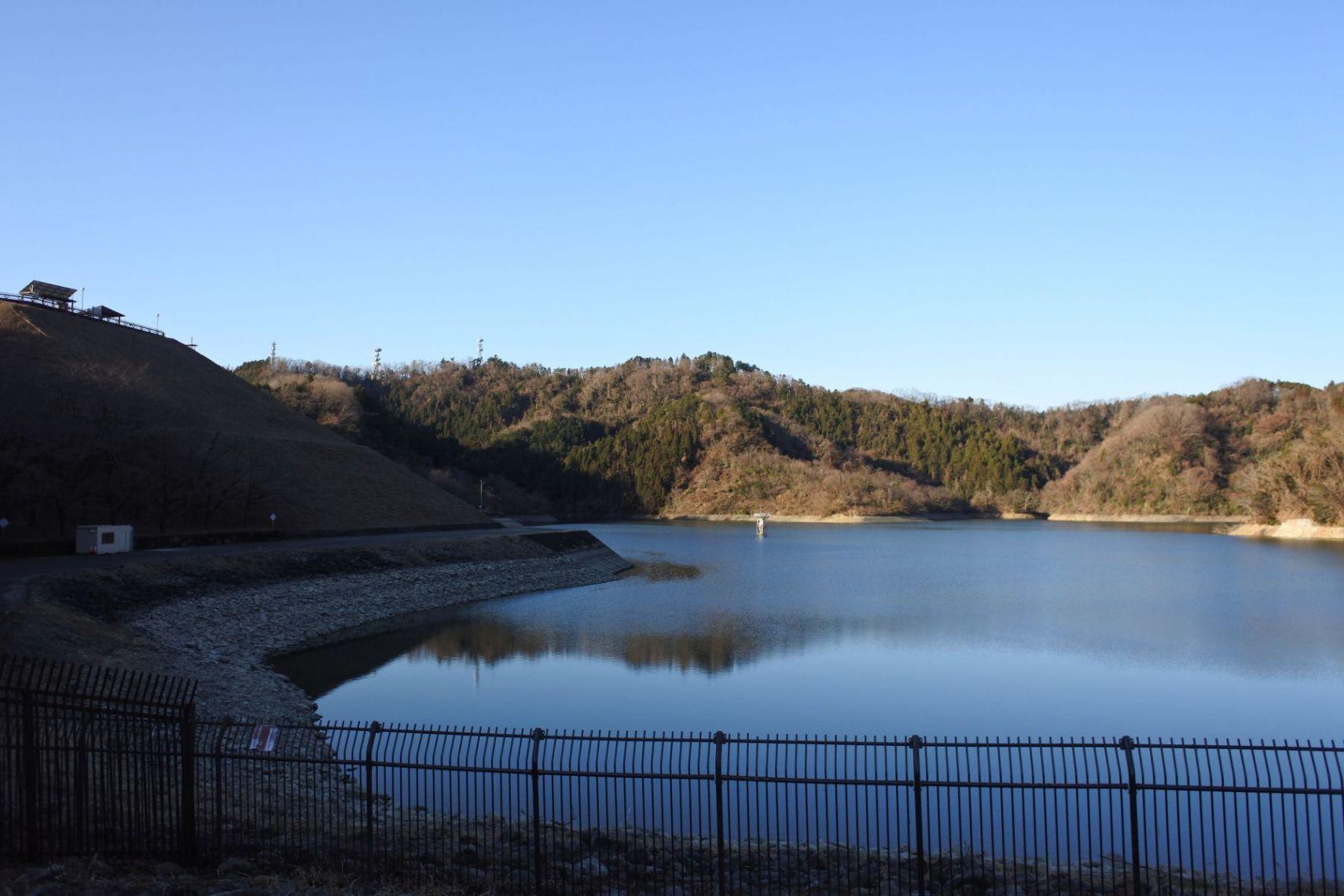 多摩市から城山湖ジョギング登山