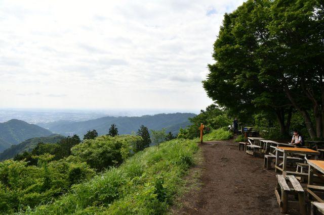 景信山サイクリング登山