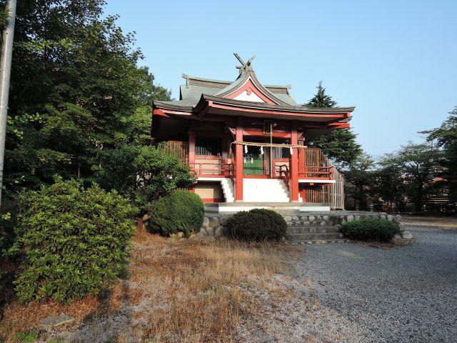 多摩市諏訪 諏訪神社