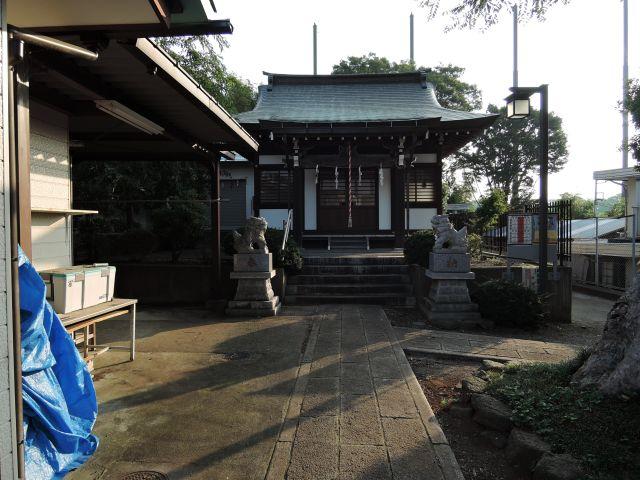 多摩市連光寺 白山神社