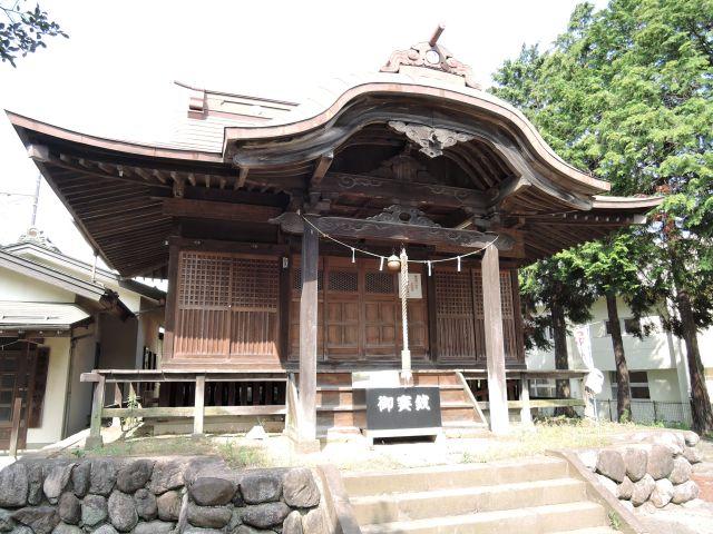 多摩市豊ケ丘  乞田八幡神社