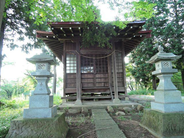 多摩市百草 稲荷神社(恋路稲荷)