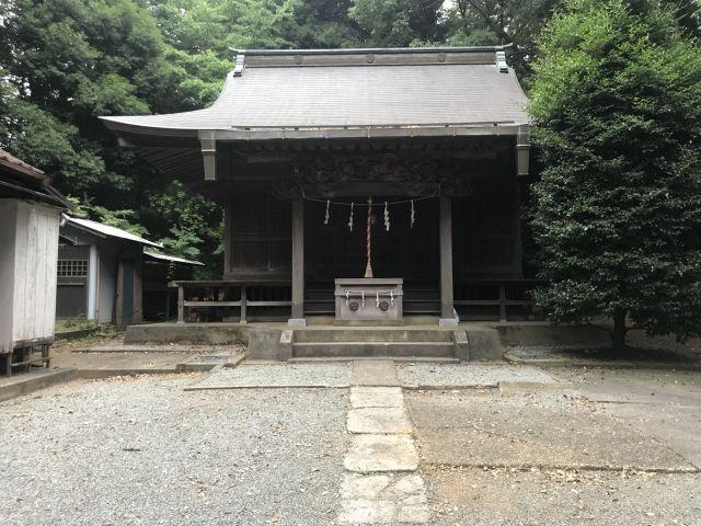 多摩市 山神社
