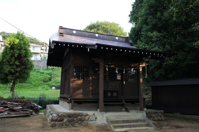 多摩市豊ヶ丘 貝取神社