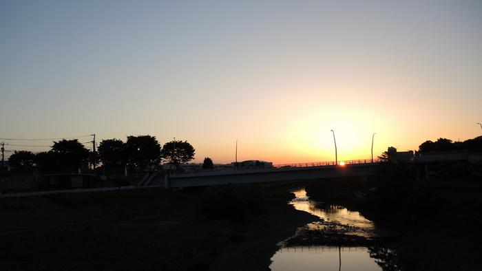 大栗川を遡る