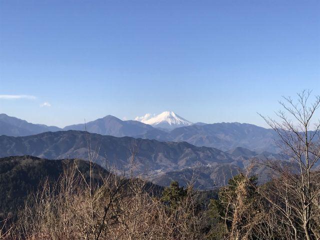 富士山もよく見えます。
