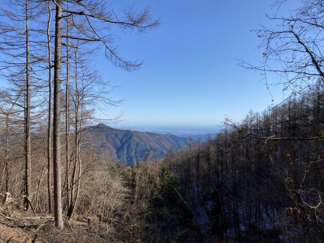 御前山山頂から展望1