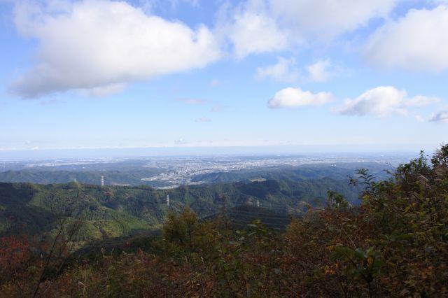 山頂からの見晴らし