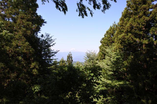山頂からの見晴らし(西側)