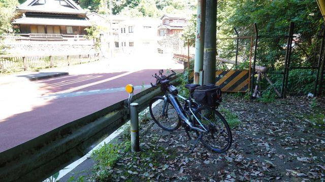 自転車停車