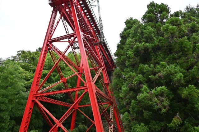 青梅線の鉄橋
