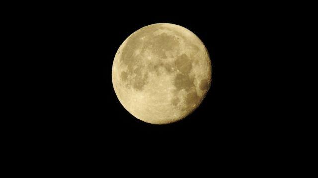 今日も月がきれいです